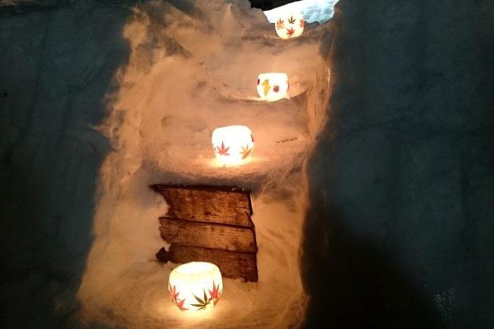 手宮線跡 小樽雪あかりの路 ランタン