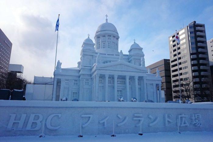 大雪像_フィンランド広場